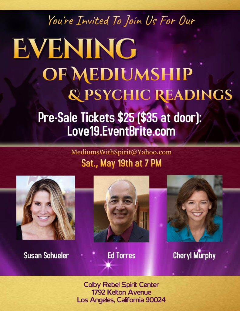 Evening of Mediumship and Psychic Readings