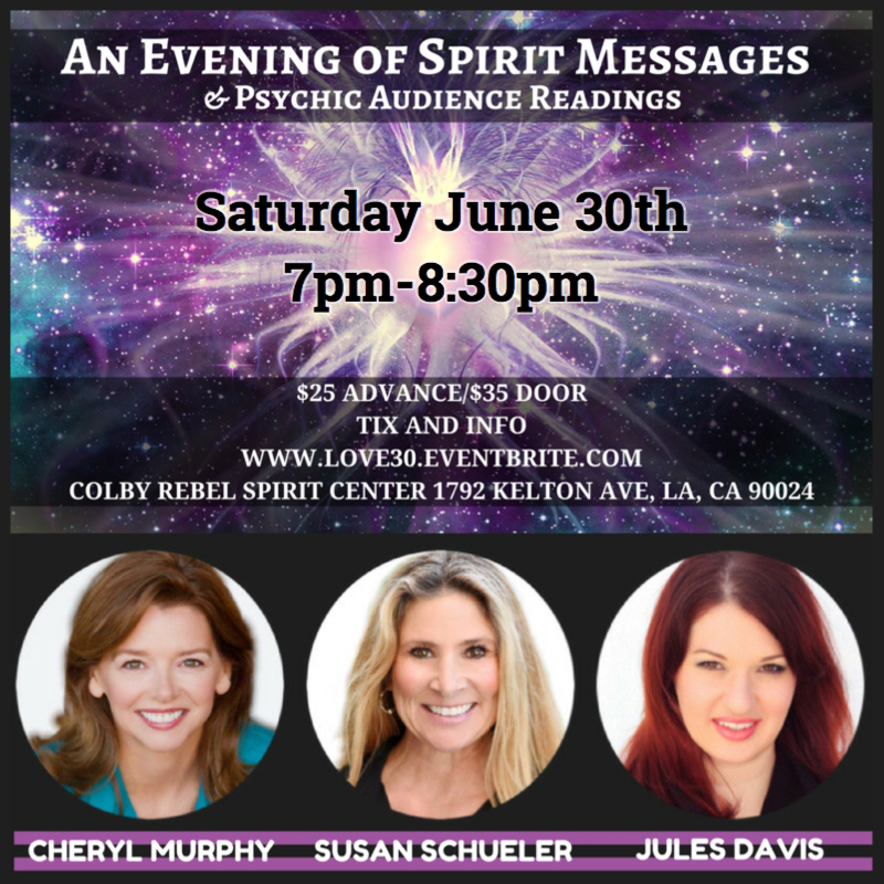 An Evenining with Spirit Messages